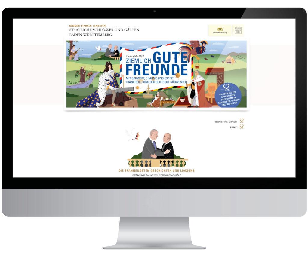 Online-Redaktion für das Themenjahr 2019 Ziemlich gute Freunde